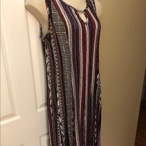 Plus size multi colored maxi dress size 16W